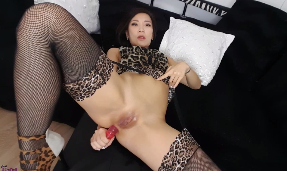 AsianDreamX / AikoDoll – Belly Bulge Anal