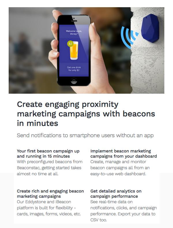 MY Beacon - Proximity marketing App - 2
