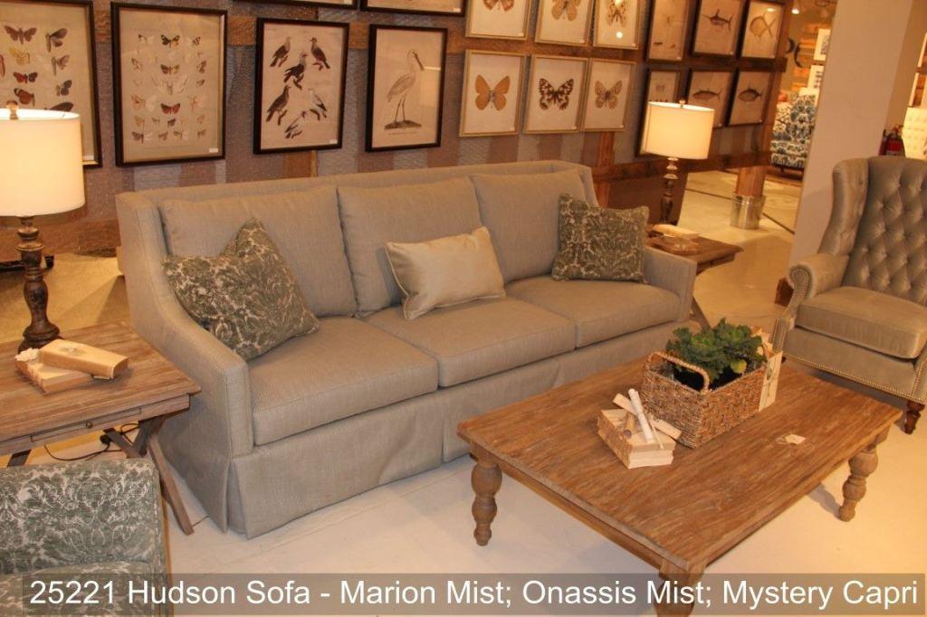 Southern Furniture Living Room Hudson Sofa 25221 Hickory