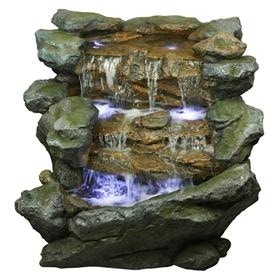 Yosemite Home Decor Accessories Three Tiered Rock Waterfall CW11032     Yosemite Home Decor Three Tiered Rock Waterfall CW11032