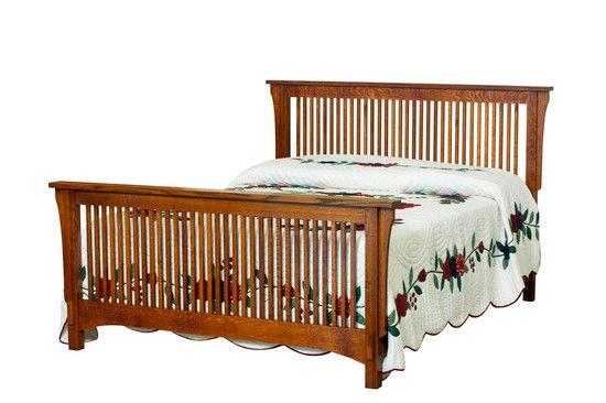 Borkholder Furniture Bedroom Bungalow Spindle Bed Queen 13 1501qxx Hickory Furniture Mart