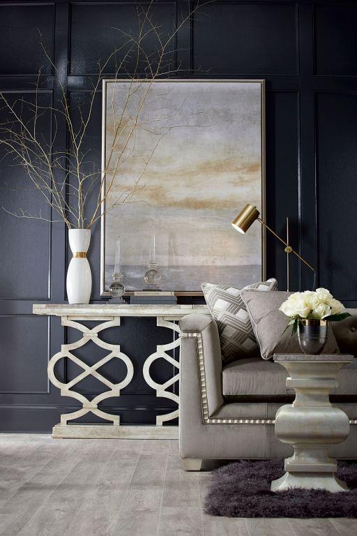 ART Furniture Living Room Hillier Console Table Bezel