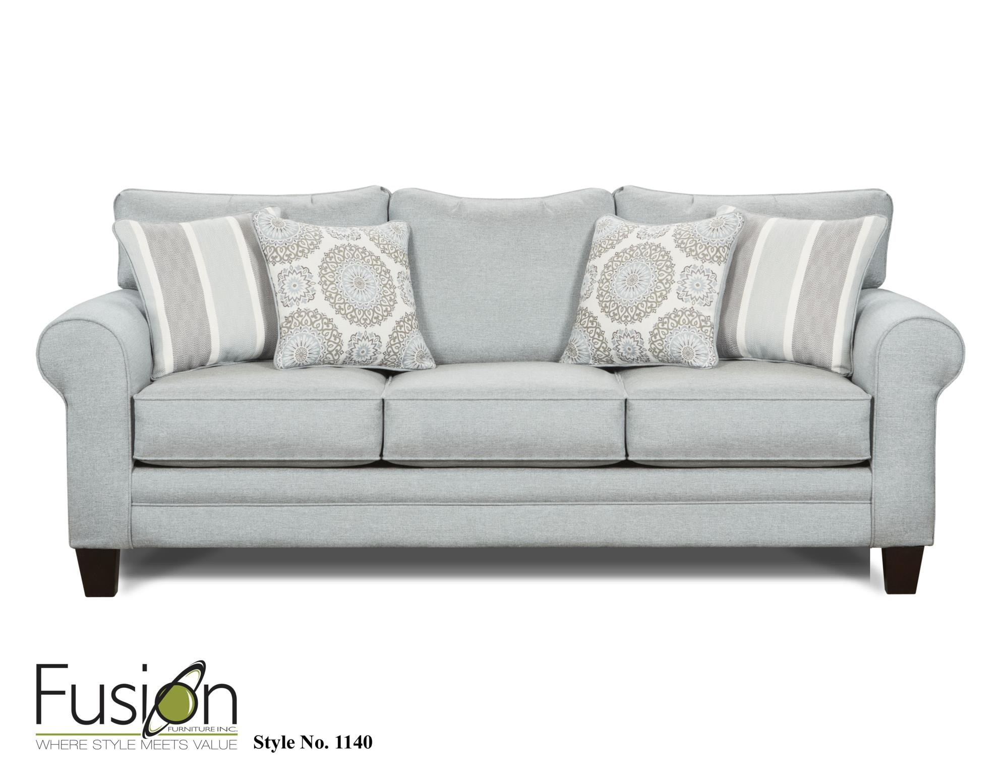Fusion Living Room The 1140 Grande Mist B F Myers Furniture
