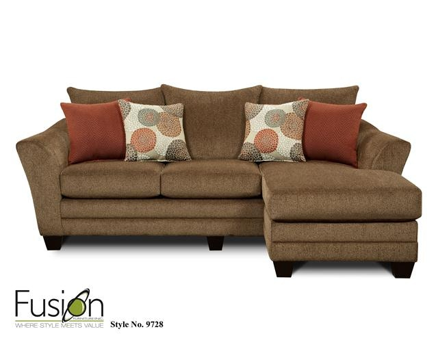 Fusion Living Room Chofa 9728Cornell Cocoa High Point