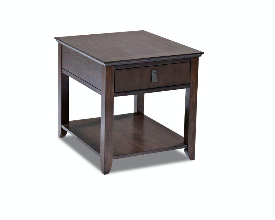 Klaussner International Living Room Park Row End Table 918