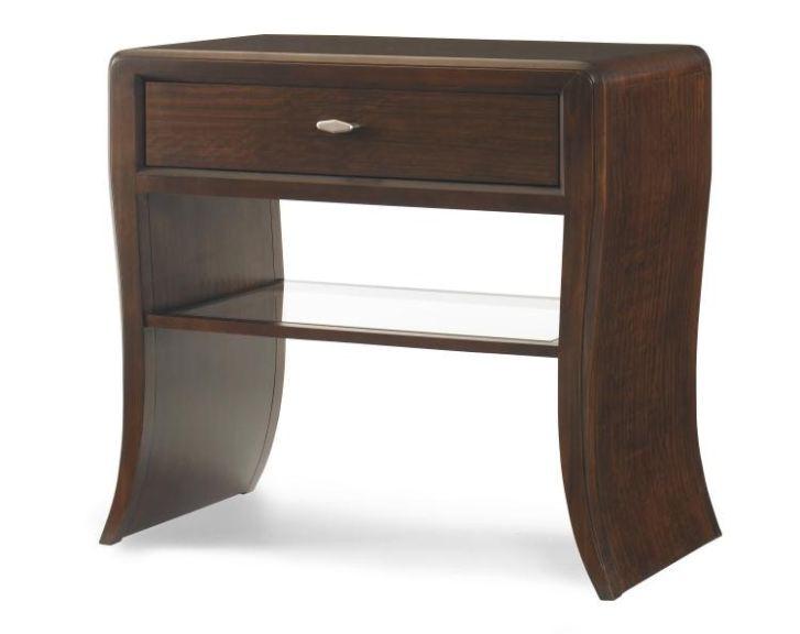 Century Furniture Bedroom Waterfall Nightstand 419 222