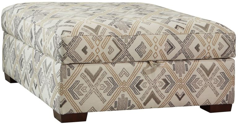 james square storage ottoman