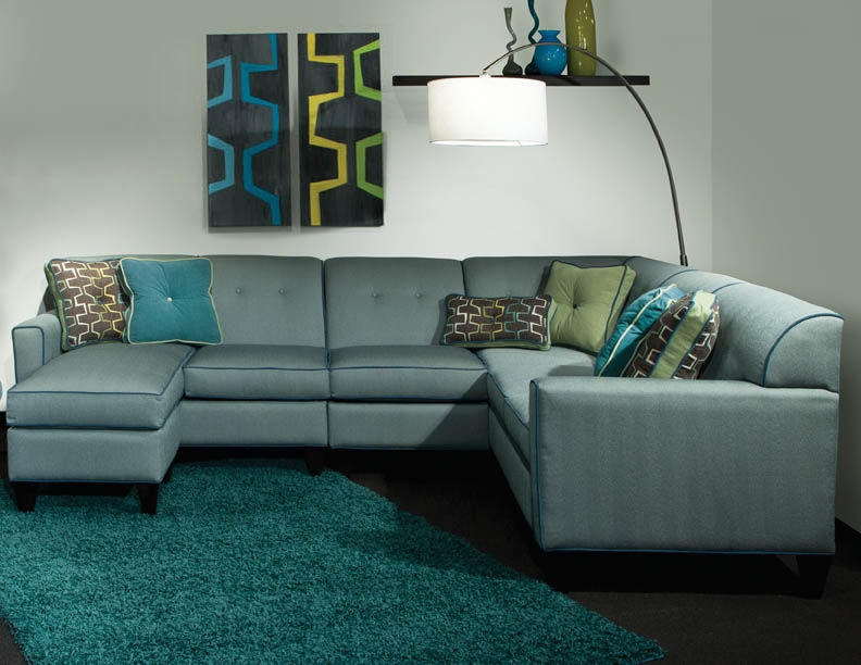 sectional with chaise ottoman