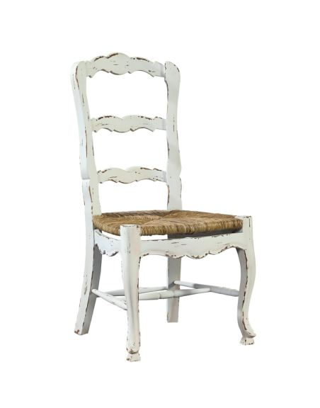 Furniture Classics Dining Room French Ladderback Side Chair 1144AG6 Woodchucks Fine Furniture