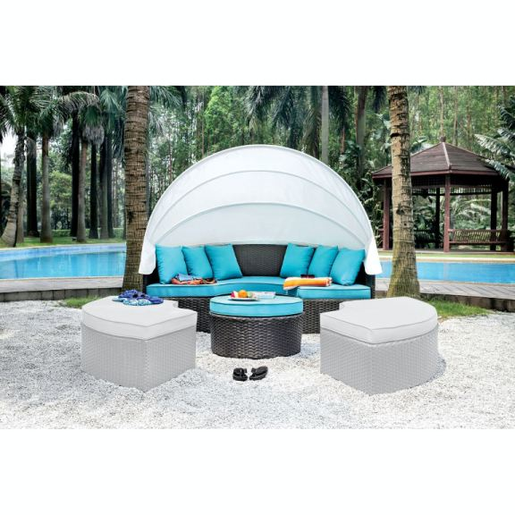patio canopy daybed