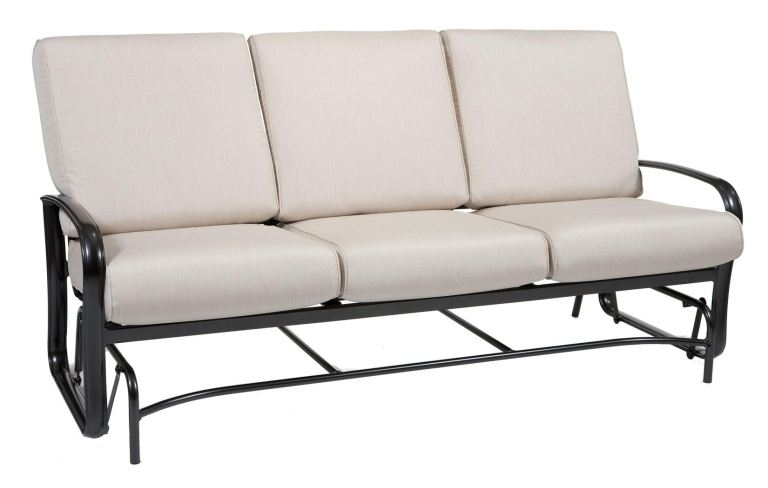 winston outdoor patio sofa glider by