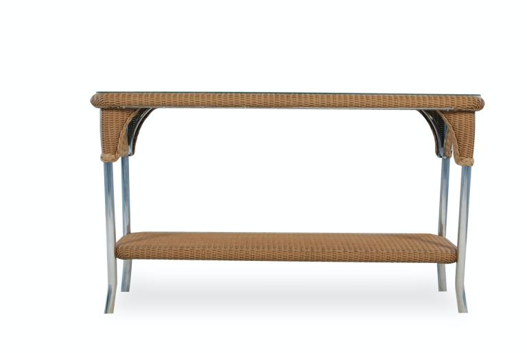 outdoor patio console table by lloyd