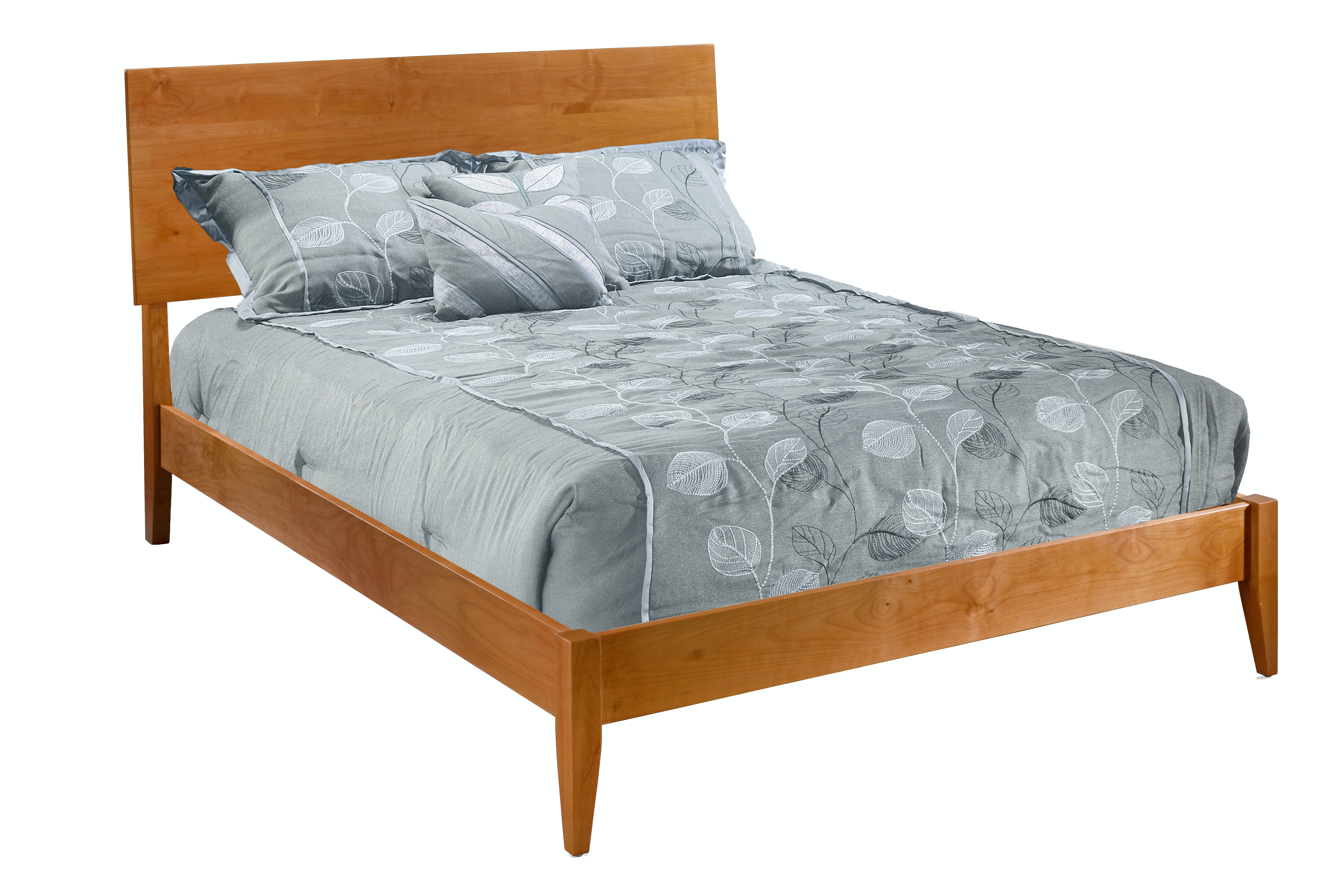 Modern Platform Bed By Archbold Furniture Company