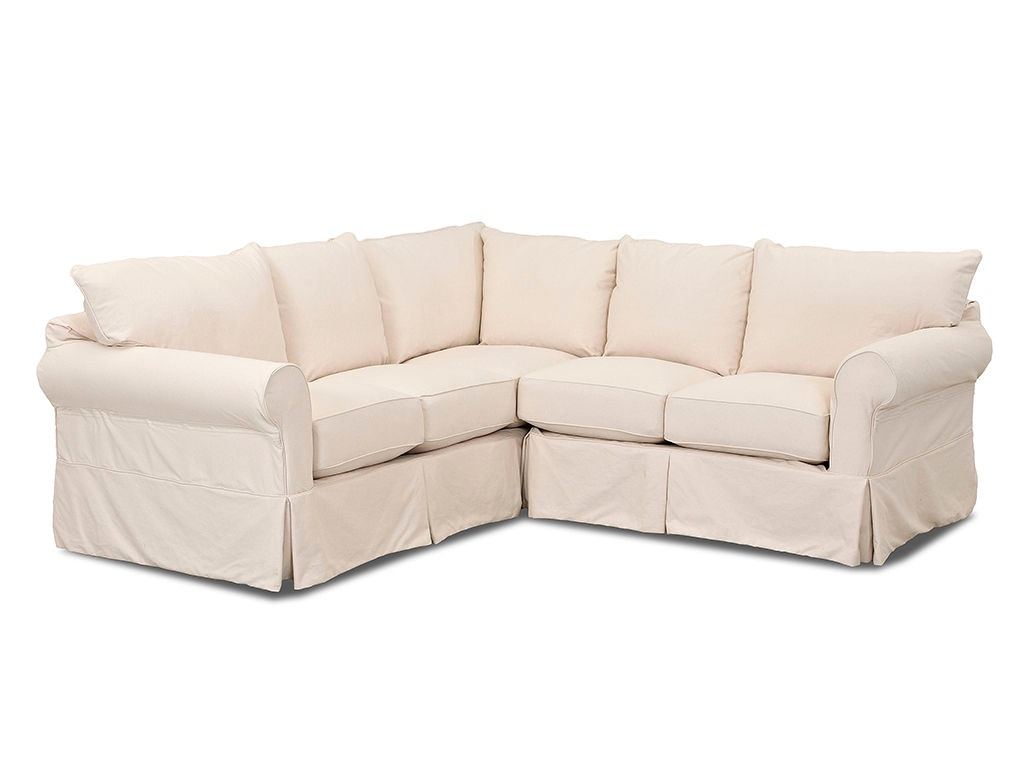 Klaussner Living Room Jenny Sectional D16100NP1 FAB SECT