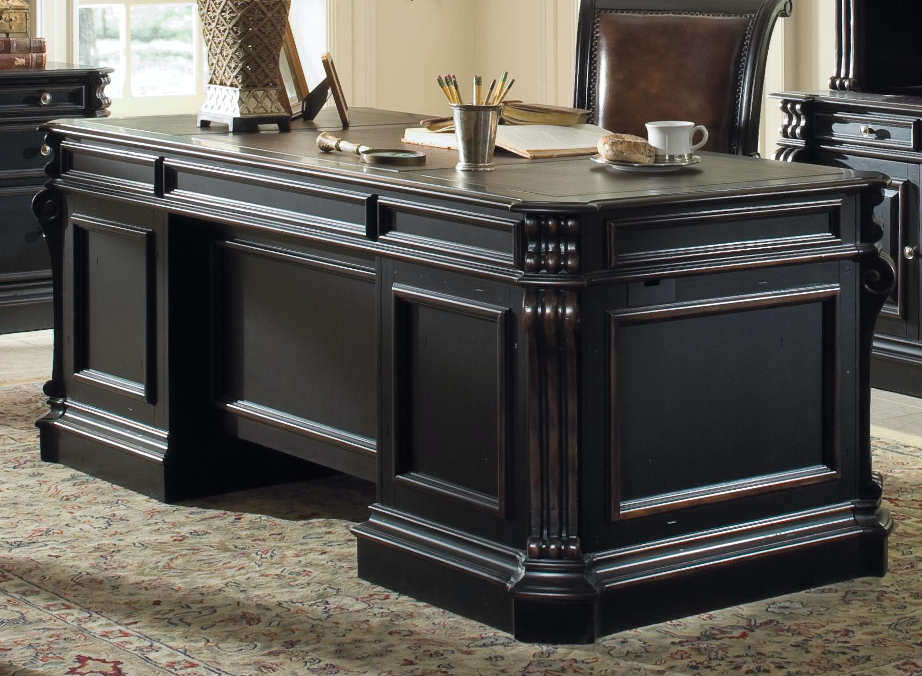 title | Wood Home Office Desk