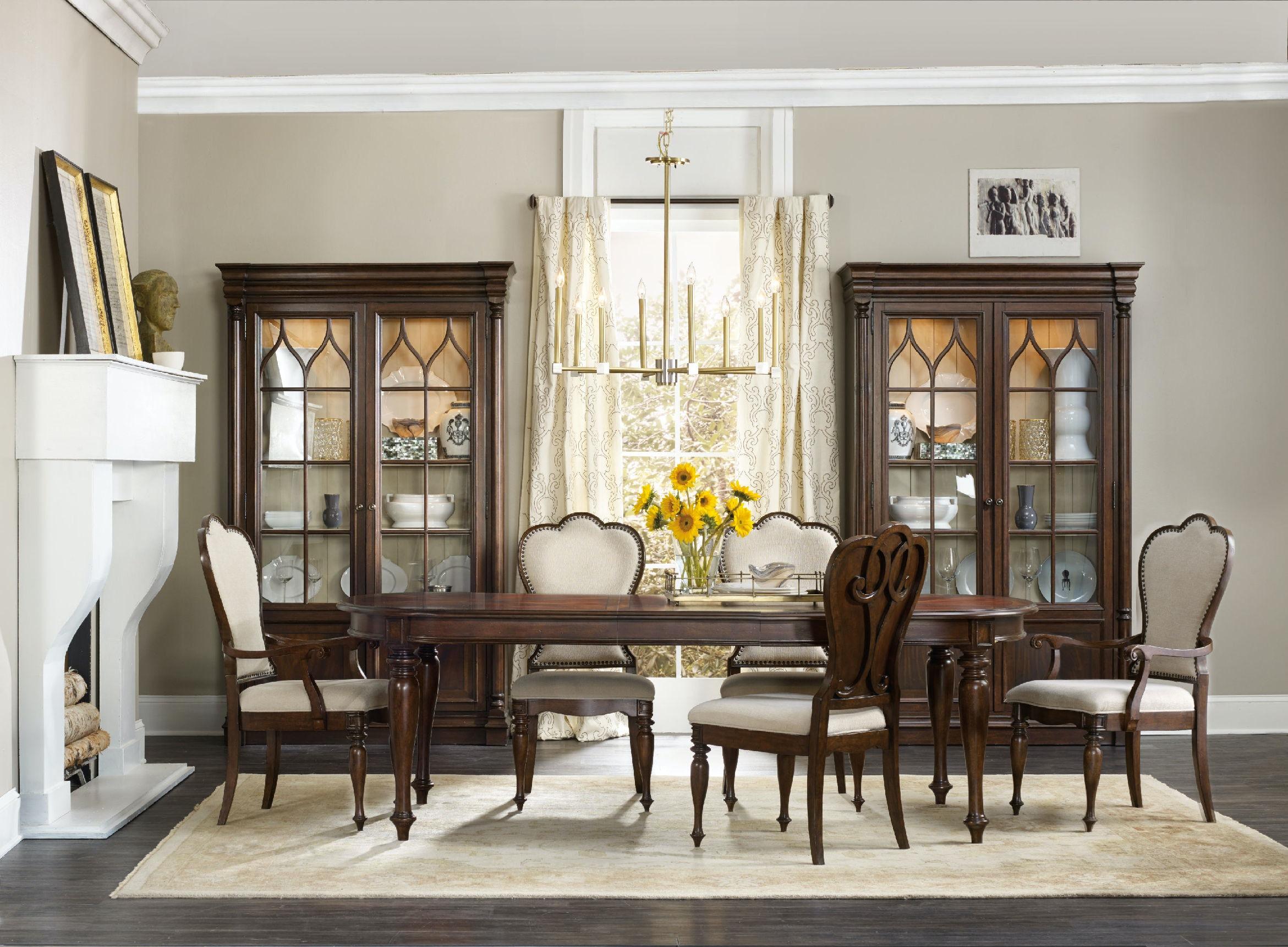 Hooker Furniture Dining Room Leesburg Display Cabinet 5381