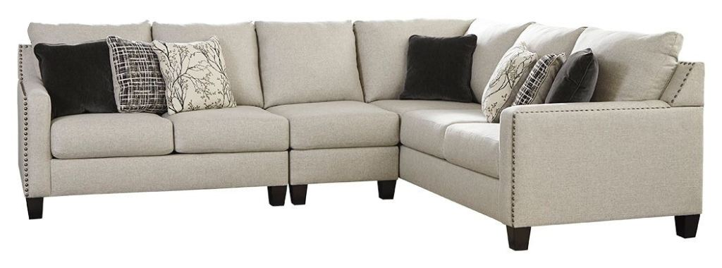 signature design by ashley living room hallenberg 3 piece sectional 41501s4