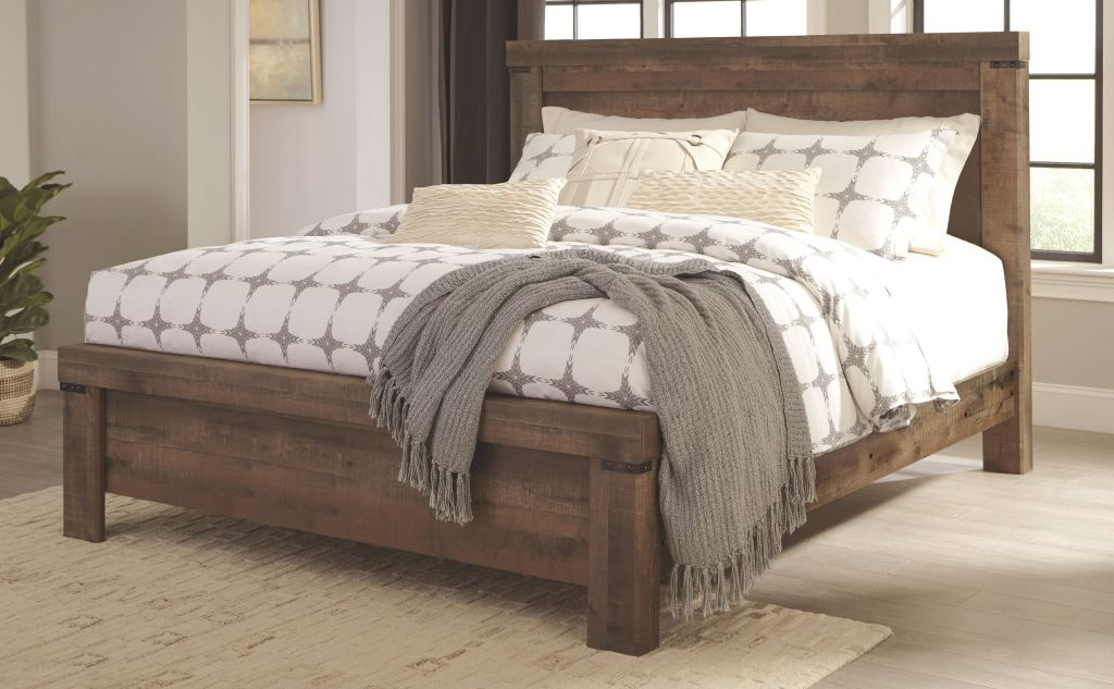 ashley bedroom trinell king panel bed