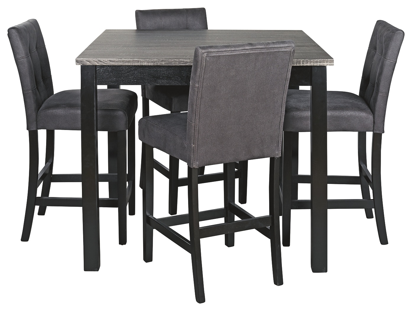 Signature Design By Ashley Bar And Game Room Garvine Counter Height Dining Room Table And Bar