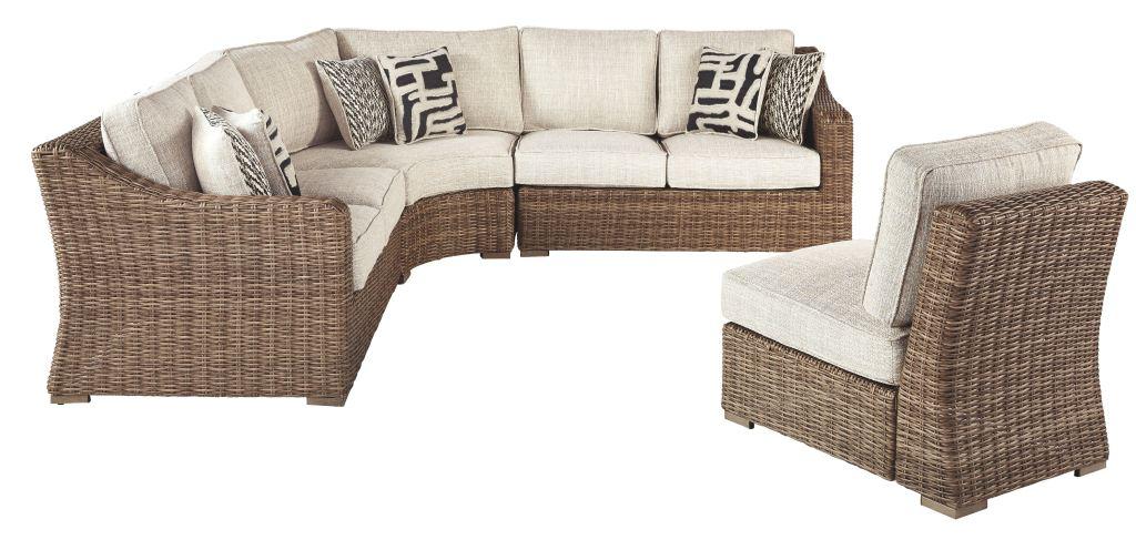 beachcroft 4 piece outdoor seating set