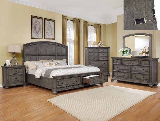Crown Mark Bedroom Lavonia Queen Headboard B1885 Q Hb Markson S