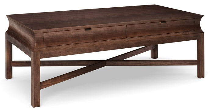 newport living room cascata large rectangular cocktail table nc161502 walter e smithe furniture design