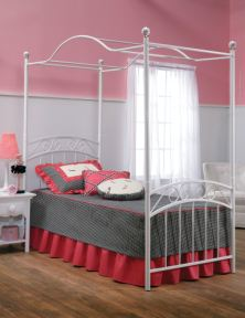 Hillsdale Furniture Youth Emily Bed Set Twin Rails Not