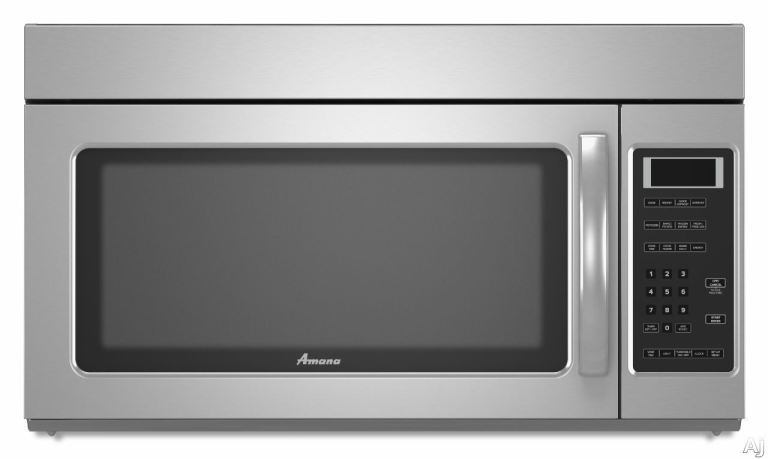 amana kitchen 1 7 cu ft over the