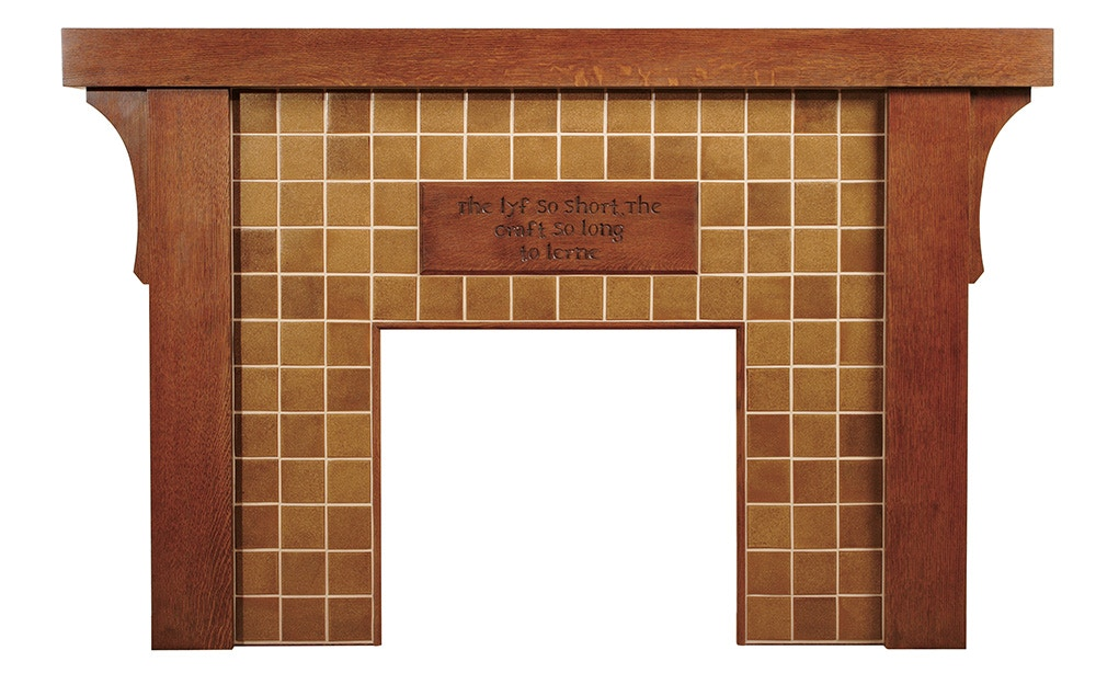 Stickley Dining Room Eastwood Fireplace Mantel 89 1977 MO