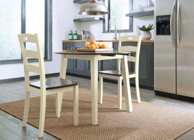 Ashley Woodanville Round DRM Drop Leaf Table D335 15 Portland OR Key Home Furnishings