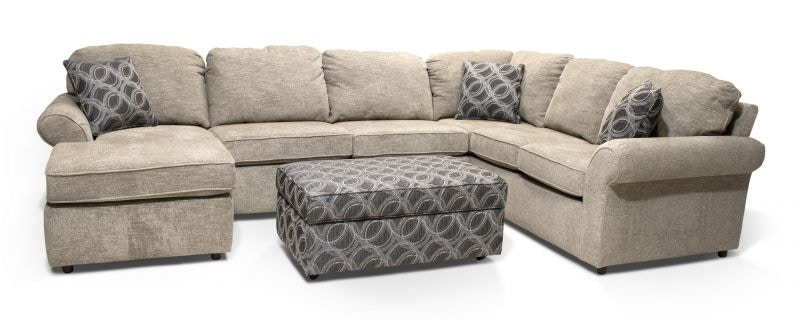 england living room miranda sectional with storage ottoman 55miranda