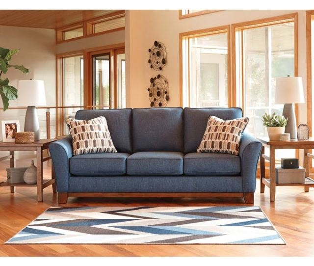 Signature Design By Ashley 7 Piece Living Room Set 43807 7 Piece Living Roomfabrics Finishes