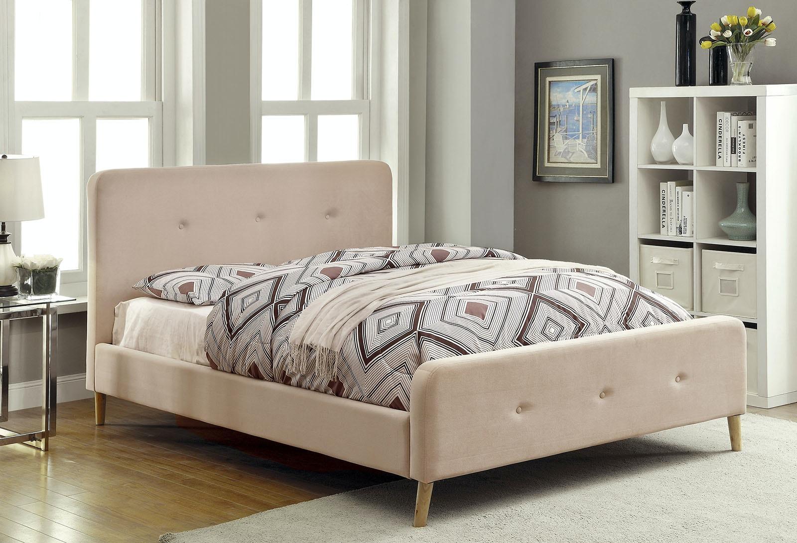 Furniture Of America Bedroom Twin Bed Headboard Footboard 13 Pc Slats Cm7272bg T Hbfb The
