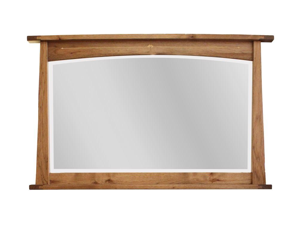 castlebrook solid wood 51x32 mirror