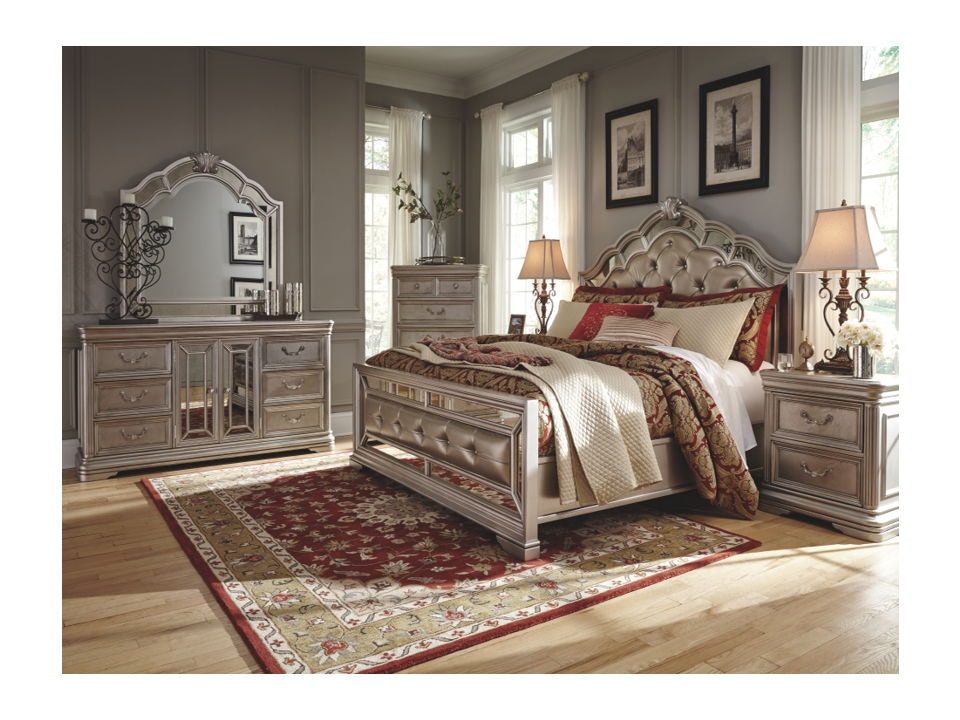 ashley birlanny 8 piece queen bed set