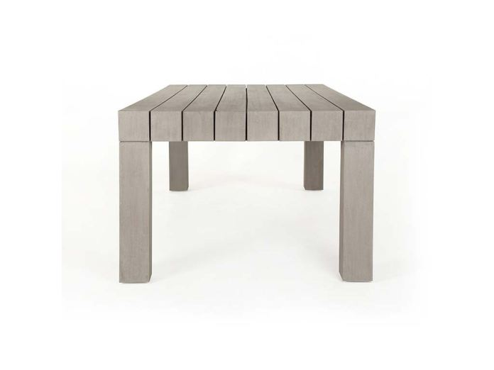 Organic Modern Outdoor Patio Outdoor Dining Table 35636 Matter Brothers Furniture Fort Myers
