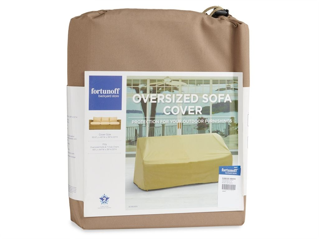 93 x 45 in oversized sofa protective cover
