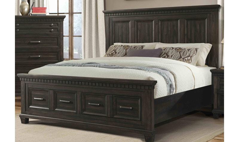 elements international mccabe queen bed 180003