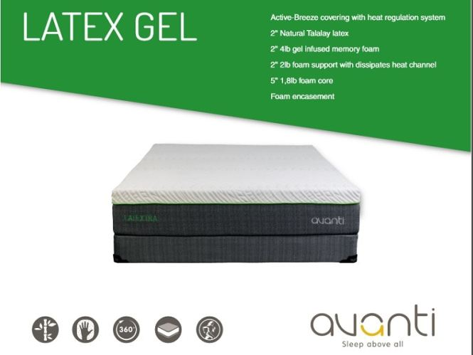 Avanti King Latexgel Mattress