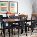 Palettes By Winesburg Solid Elm And Maple Table With 6 Side Chairs Brinkley Dining Set
