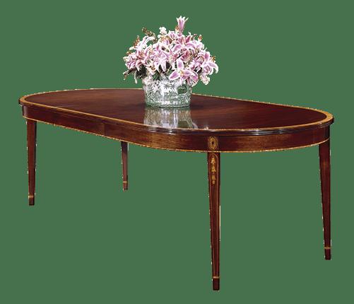 Henkel Harris Furniture 2225V Dining Room Dining Table