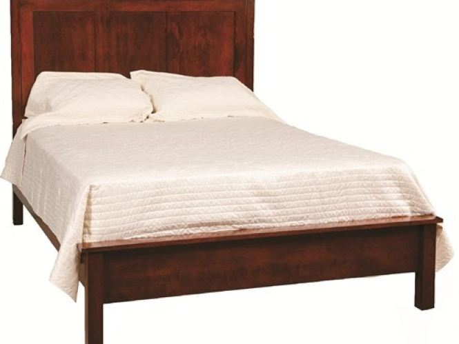 Daniel S Amish Concord Panel Bed