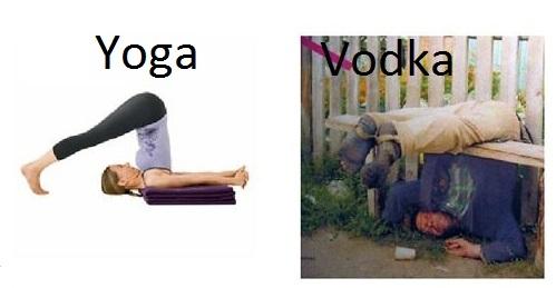The Best Yoga And Vodka Memes Memedroid