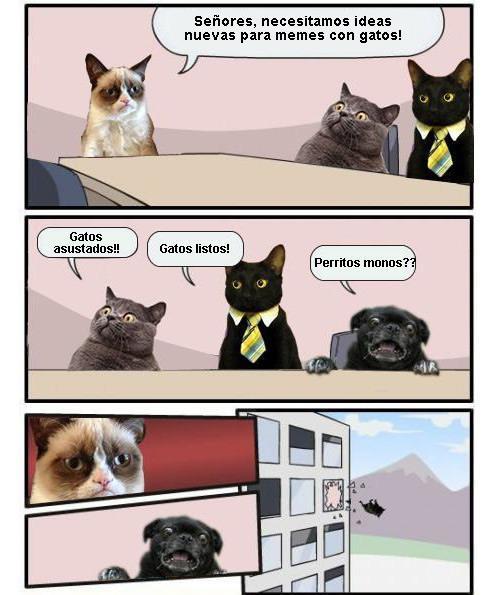 Gato Cybernetico Meme By Mariguana Memedroid