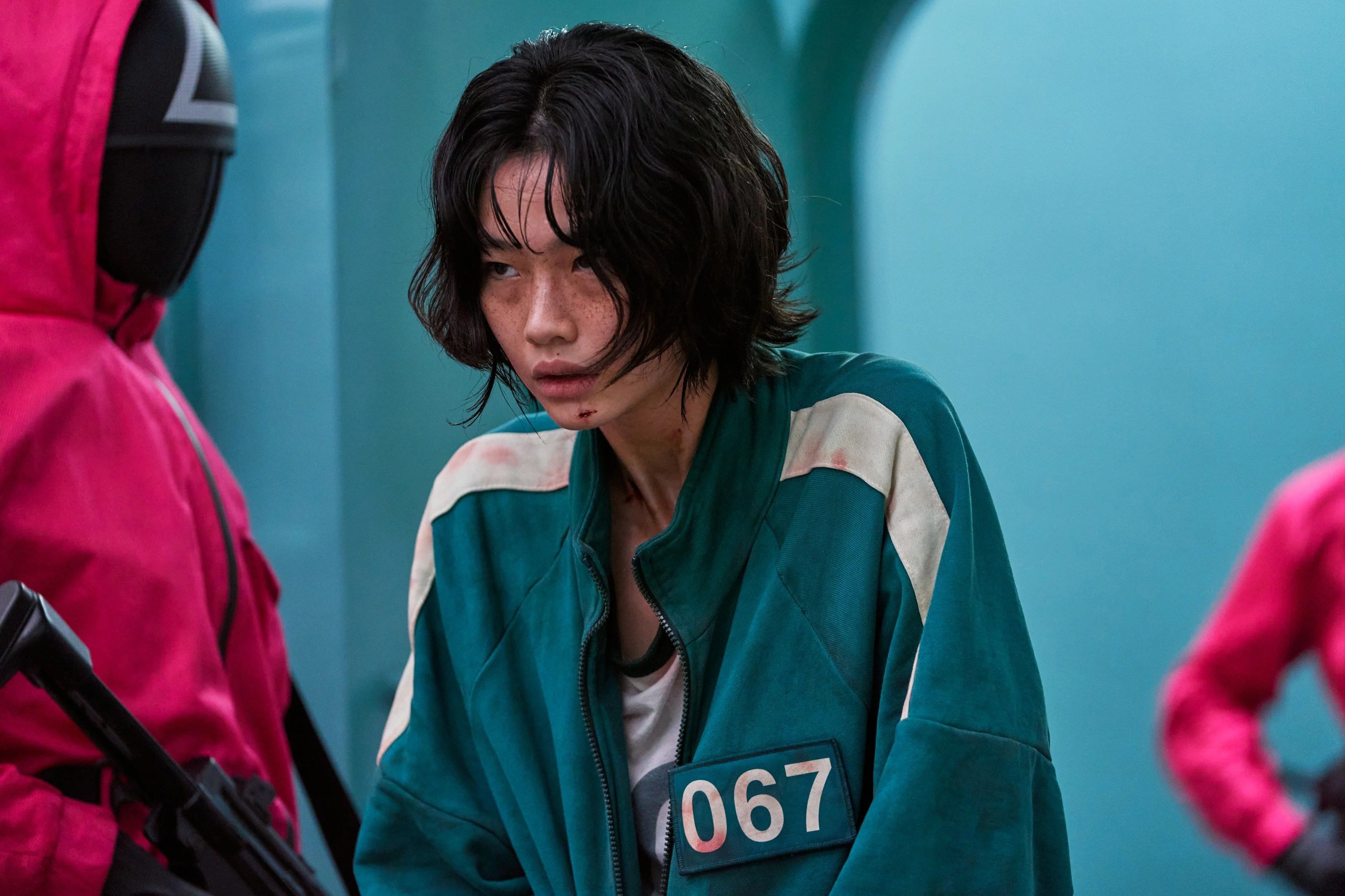 Reparto de Squid Game, HoYeon Jung