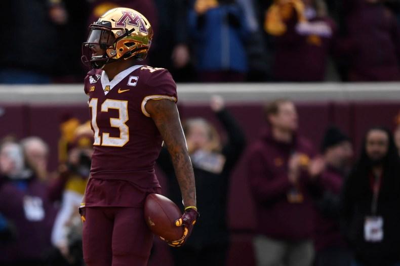 Scouting the 2021 NFL Draft: Minnesota's Rashod Bateman