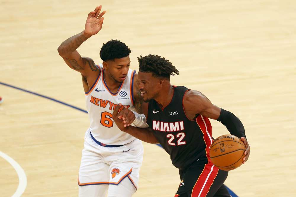 Miami Heat beat the New York Knicks 98-88 to snap a 6 game skid