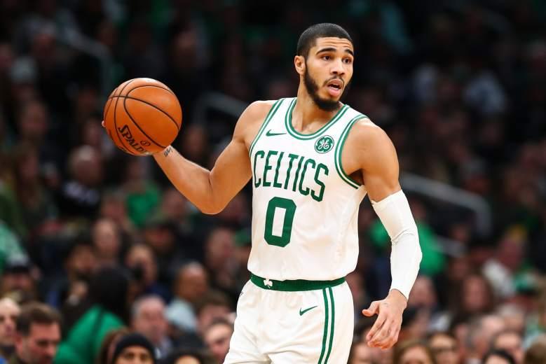 "Boston Celtics' ""Player of the Week"" -- Jayson Tatum"