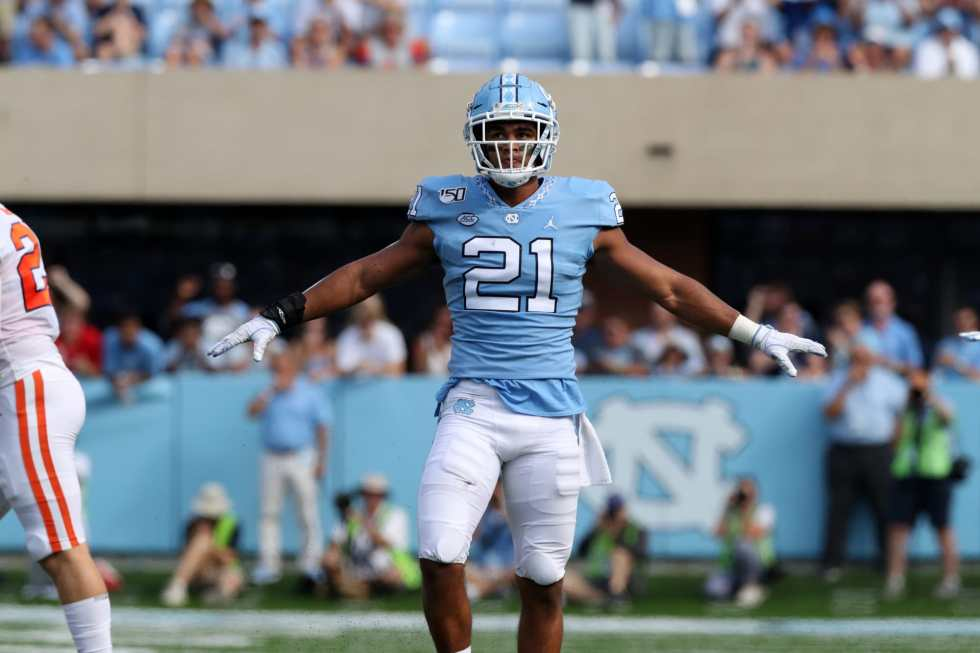 UNC Football: Chazz Surratt named ACC Linebacker of the Week