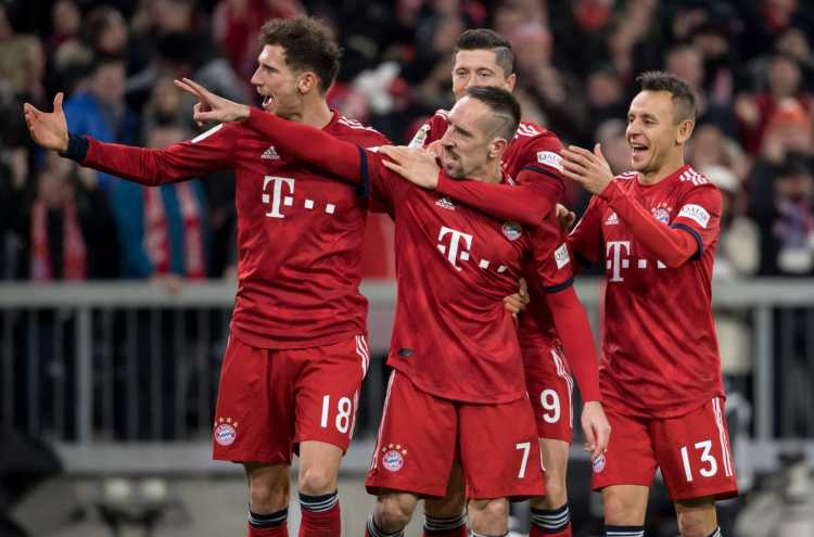 Bayern Munich player grades from big win against Nurnberg
